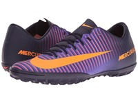 Nike Mercurial Victory Vi Tf Purple Dynasty Bright Citrus Hyper Grape Men's Soccer Shoes