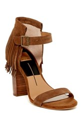 Dv Footwear Nancy Fringe Sandal Brown
