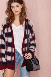Nasty Gal Checked Out Cardigan
