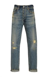 Citizens Of Humanity Liya Distressed Classic Jean Light Wash