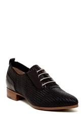 Alberto Fermani Woven Oxford Black