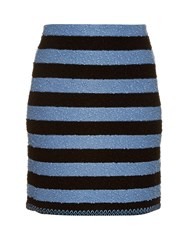 Sonia Rykiel Stretch Boucle Striped Skirt
