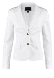 Banana Republic Ivory Blazer White