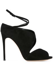Casadei Ankle Strap Sandals Black