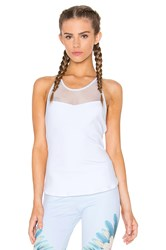 Alo Yoga Elite Tank White