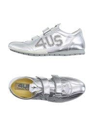 Cesare Paciotti 4Us Footwear Low Tops And Trainers Women Silver