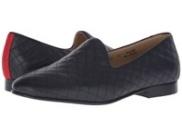 Del Toro Quilted Leather Slipper Black