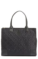 Tory Burch 'Ella' Packable Quilted Nylon Tote Black