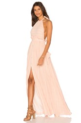 Mara Hoffman Pocket Halter Dress Pink
