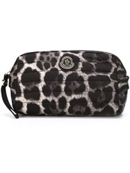 Moncler Quilted Beauty Case Black