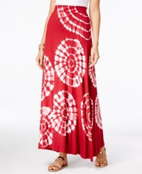 Inc International Concepts Tie Dyed Maxi Skirt Only At Macy's Decorative Paisley
