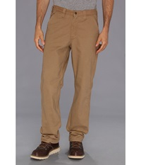 Carhartt Washed Twill Dungaree Flannel Lined Pant Dark Khaki Men's Casual Pants