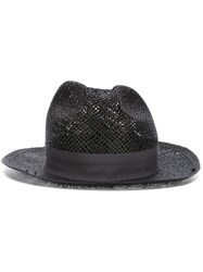 Super Duper Hats Woven Hat Black