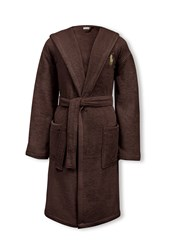 Ralph Lauren Home Player Bath Robe Brown