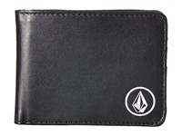 Volcom Corps Wallet Black 2 Bill Fold Wallet