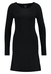 Majestic Jersey Dress Noir Black