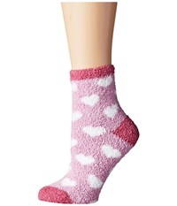 Life Is Good Lightweight Heart Snuggle Socks Dreamy Pink Women's Low Cut Socks Shoes