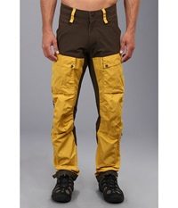 Fj Llr Ven Keb Trousers Ochre Men's Casual Pants Orange