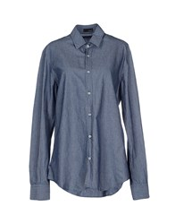 Tonello Shirts Shirts Women Slate Blue