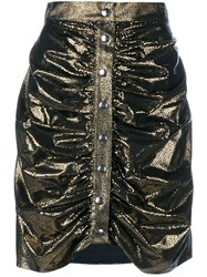 J.W.Anderson J.W. Anderson Ruched Metallic Skirt