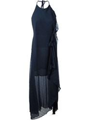 Dagmar 'Ruby' Pleated Dress Blue