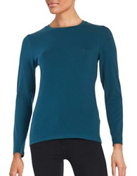 Lord And Taylor Petite Long Sleeve Tee Reflection Pond