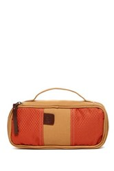 Timberland Canvas Express Nylon Travel Kit Orange
