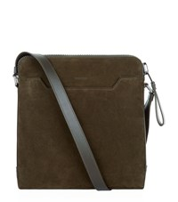 Tom Ford Small Messenger Bag Unisex Khaki