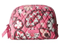 Vera Bradley Medium Zip Cosmetic Blush Pink Cosmetic Case