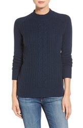 Ag Jeans Women's 'Leon' Cable Knit Merino Wool And Cashmere Sweater