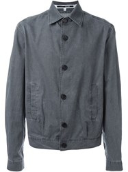 Mcq By Alexander Mcqueen Mcq Alexander Mcqueen Washed Lightweight Jacket Grey