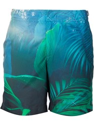 Orlebar Brown 'Into The Jungle' Exclusive Swim Shorts Black