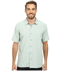 O'neill Ford Wovens Sage Men's Short Sleeve Button Up Green