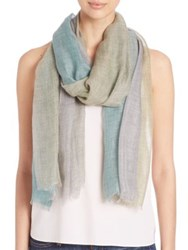 Bajra Leno Ombre Heather Scarf Blue White Grey Yellow Pink Beige