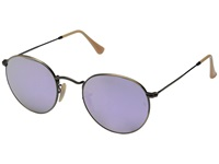 Ray Ban Rb3447 50Mm Bronze Lilac Mirror Fashion Sunglasses Purple