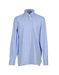 Luigi Borrelli Napoli Shirts Shirts Men Sky Blue