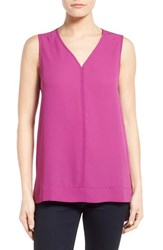 Women's Pleione Sleeveless V Neck Top Purple Clover