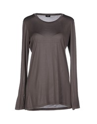 Snobby Sheep Topwear T Shirts Women Khaki