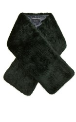Karen Millen Colourful Fur Scarf