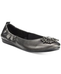Easy Spirit Georgetta Flats Women's Shoes Pewter