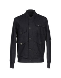 French Connection Jackets Dark Blue