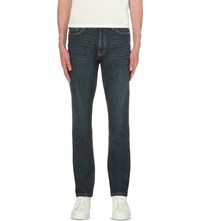 The Kooples Regular Fit Tapered Jeans Blue Washed
