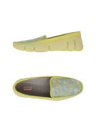 Swims Footwear Moccasins Women Yellow