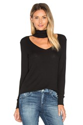 Lna Detached Turtleneck Top Black