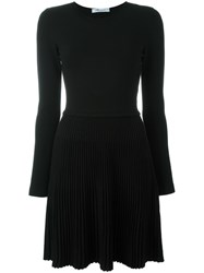 Blumarine Longsleeved Dress Black
