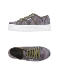 Victoria Low Tops And Trainers Military Green