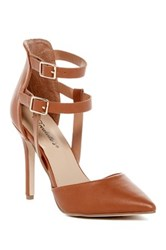 Oppo Isabel Ankle Strap Pump Brown