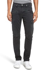 Hudson Jeans Men's Greyson Slim Fit Cargo Biker Pants