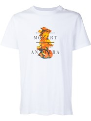 Opening Ceremony 'Mozart' T Shirt White