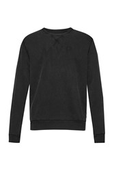 French Connection Appletini Jersey Sweatshirt Black
